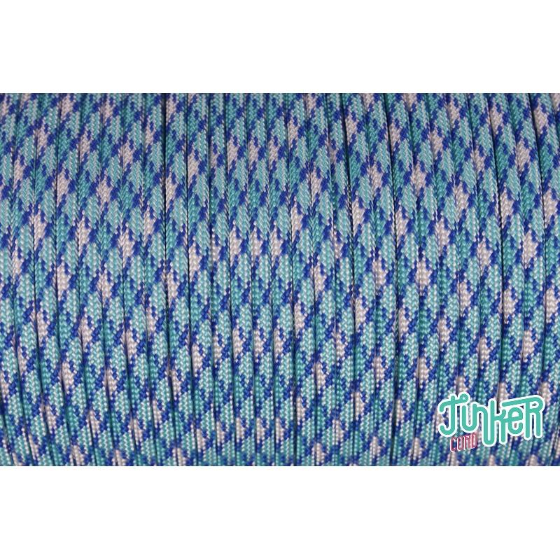 CUSTOM CUT Type III 550 Cord in color BLUE SHOCK, Mario & Lena