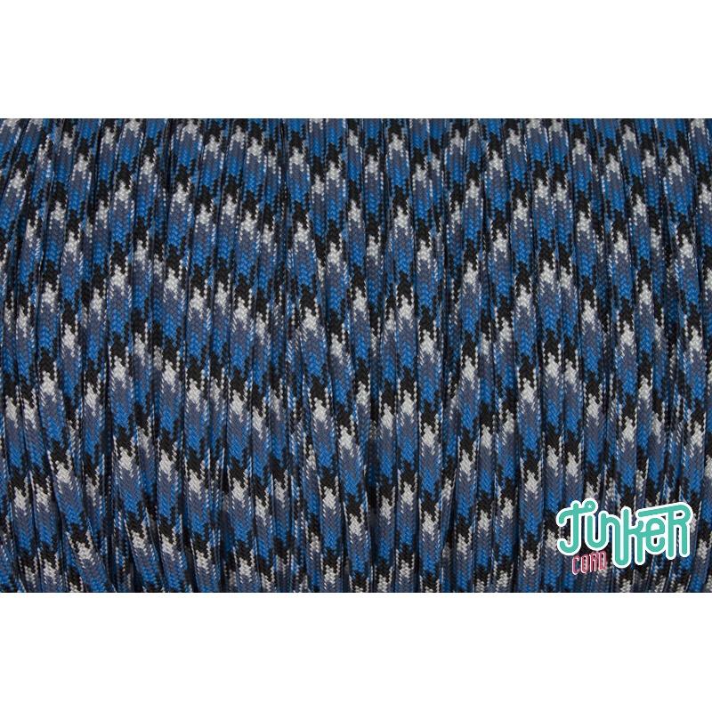CUSTOM CUT Type III 550 Cord in color BLUE SNAKE, Mario & Lena