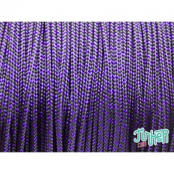 Meterware Type I Cord, Farbe ACID PURPLE DIAMONDS