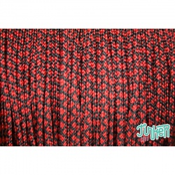 Meterware Type I Cord, Farbe IMPERIAL RED DIAMONDS