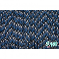 150 Meter Rolle Type III 550 Cord, Farbe BLUE SNAKE