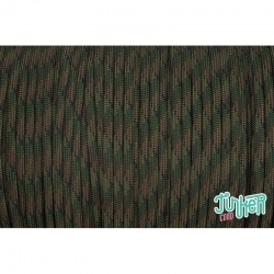 Meterware Type III 550 Cord, Farbe DARK MULTICAM