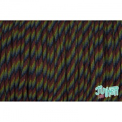 Meterware Type III 550 Cord, Farbe DARK STRIPES