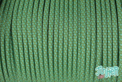 150 Meter Rolle Type III 550 Cord, Farbe MOSS & TURQUOISE DIAMONDS