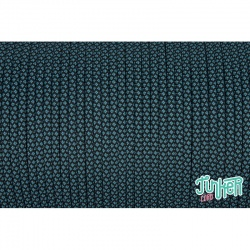 Meterware Type III 550 Cord, Farbe NEON TURQUOISE DIAMONDS
