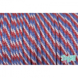 150 Meter Rolle Type III 550 Cord, Farbe OLD GLORY