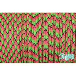 CUSTOM CUT Type III 550 Cord in color WATERMELON