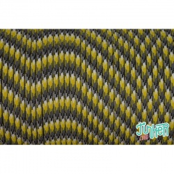 Meterware Type III 550 Cord, Farbe YELLOW CAMO