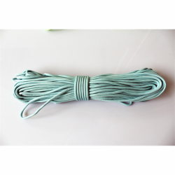 30 Meter Bündel Polycord Type III Farbe GLOW IN THE DARK - BLUE