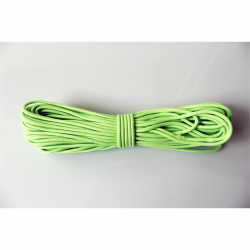 30 Meter Bündel Paracord Type III Farbe GLOW IN THE DARK - GREEN