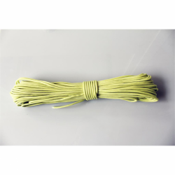 30 Meter Bündel Polycord Type III Farbe GLOW IN THE DARK - YELLOW