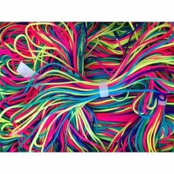 Meterware Polycord Type III in color RAINBOW / REGENBOGEN
