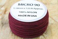 38 Meter Rolle Micro Cord 90, Farbe BURGUNDY