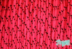 Meterware Type I Cord, Farbe NEON PINK DIAMONDS