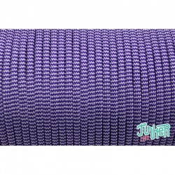 150 Meter Rolle Type III 550 Cord, Farbe ACID PURPLE & SILVER GREY BB