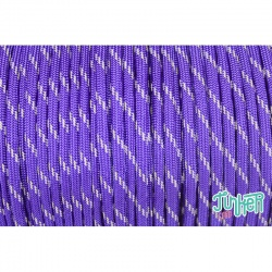 150 Meter Rolle Type III 550 Cord, Farbe ACID PURPLE W 3 REFLECTIVE TRACER