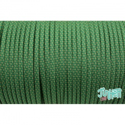 Meterware Type III 550 Cord, Farbe KELLY GREEN & MOSS DIAMONDS