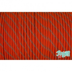 150 Meter Rolle Type III 550 Cord, Farbe NEON ORANGE W 3 REFLECTIVE TRACER