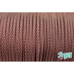 Meterware Type III 550 Cord, Farbe RUST DIAMONDS