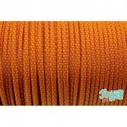 Meterware Type III 550 Cord, Farbe SOLAR ORANGE & GOLDENROD DIAMONDS