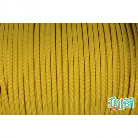 Meterware Type III 550 Cord, Farbe CANARY YELLOW