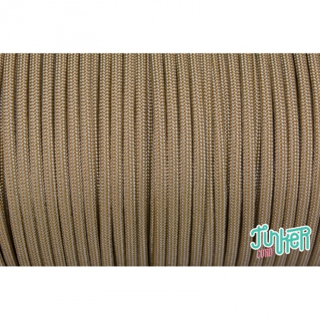 Meterware Type III 550 Cord, Farbe GOLD SILVER GREY STRIPE
