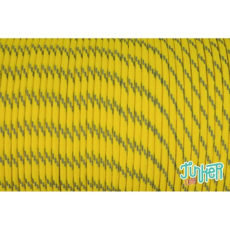 150 Meter Rolle Type III 550 Cord, Farbe NEON YELLOW W 3 REFLECTIVE TRACER