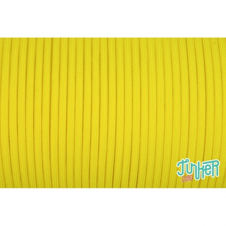 Meterware Type III 550 Cord, Farbe NEON YELLOW