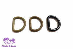 D-Ring 25mm metall