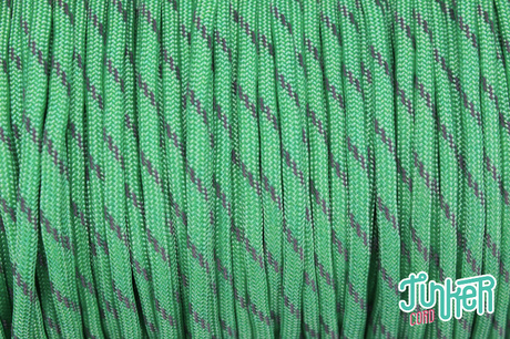 150 Meter Rolle Type III 550 Cord, Farbe MINT W 3 REFLECTIVE TRACER