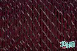 150 Meter Rolle Type III 550 Cord, Farbe BURGUNDY W 3...