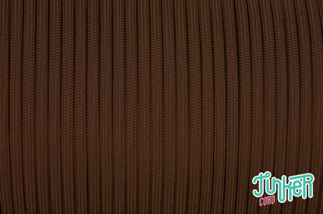 150 Meter Rolle Type III 550 Cord, Farbe CHOCOLATE BROWN