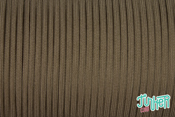 150 Meter Rolle Type III 550 Cord, Farbe GOLD-BROWN