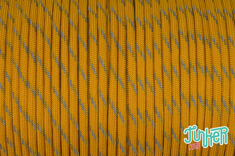 150 Meter Rolle Type III 550 Cord, Farbe GOLDENROD W 3 REFLECTIVE TRACER