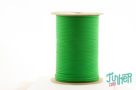 Meterware Type III 550 Cord, Farbe KELLY GREEN