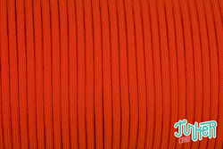 Meterware Type III 550 Cord, Farbe NEON ORANGE