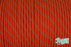 Meterware Type III 550 Cord, Farbe NEON ORANGE W 3...