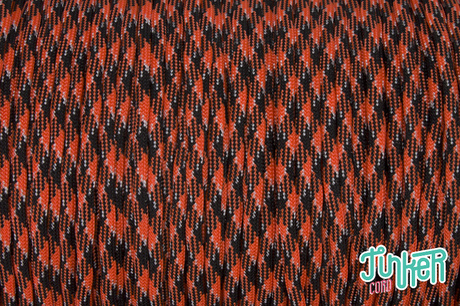 Meterware Type III 550 Cord, Farbe ORANGE YOU HAPPY