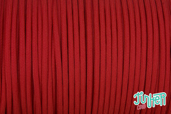 Meterware Type III 550 Cord, Farbe RED