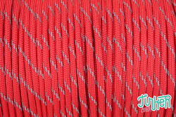 150 Meter Rolle Type III 550 Cord, Farbe RED W 3...