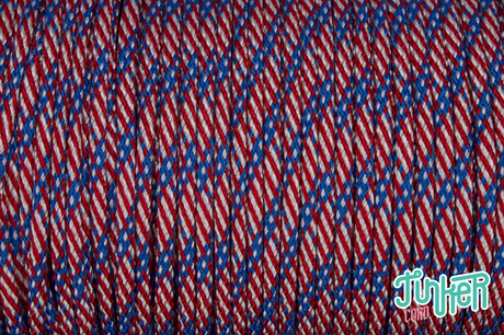 150 Meter Rolle Type III 550 Cord, Farbe STARS N STRIPES