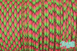 Meterware Type III 550 Cord, Farbe WATERMELON