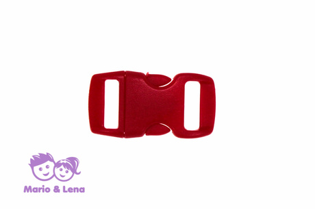 Bracelet Buckle Red 10mm