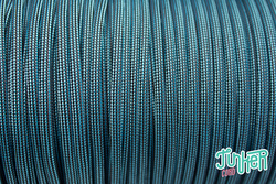 150 Meter Rolle Type III 550 Cord, Farbe NEON TURQUOISE &...