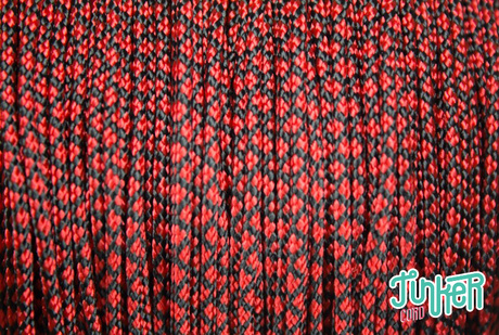 150 Meter Rolle Type I Cord, Farbe IMPERIAL RED DIAMONDS