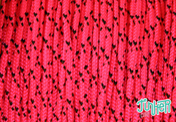 CUSTOM CUT Type I Cord in color NEON PINK DIAMONDS