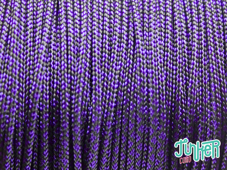 150 Meter Rolle Type I Cord, Farbe ACID PURPLE DIAMONDS