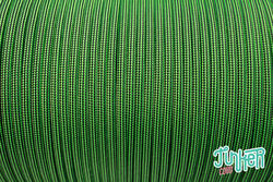 500 feet Spool Type III 550 Cord in color NEON GREEN & BK...