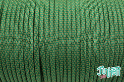 150 Meter Rolle Type III 550 Cord, Farbe KELLY GREEN &...