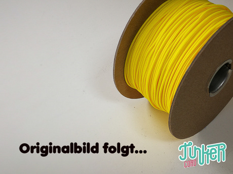 150 Meter Rolle Type I Cord, Farbe CANARY YELLOW